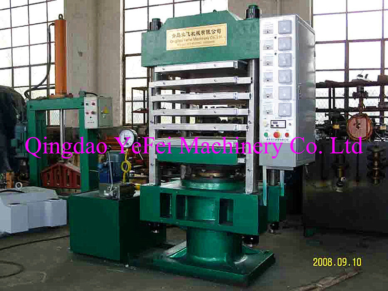 Multilayer and pillar type vulcanizing machine